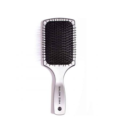 Silver Paddle Brush