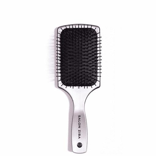 Silver Paddle Brush