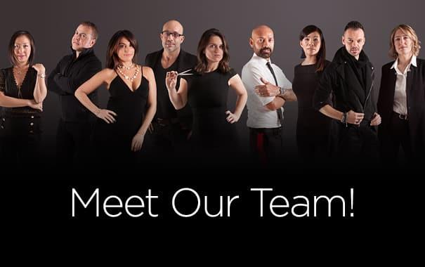 Salon Ziba Team picture - Mobile Version