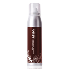 salon ziba dry shampoo maroon bottle