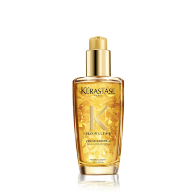 Kerastase elixir ultime hair oil bottle
