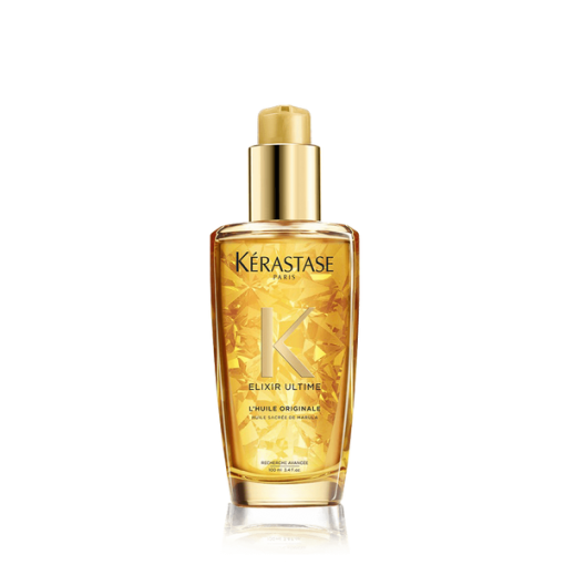 Kerastase elixir ultime hair oil bottle