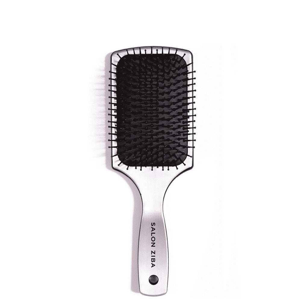professional silver paddle brush