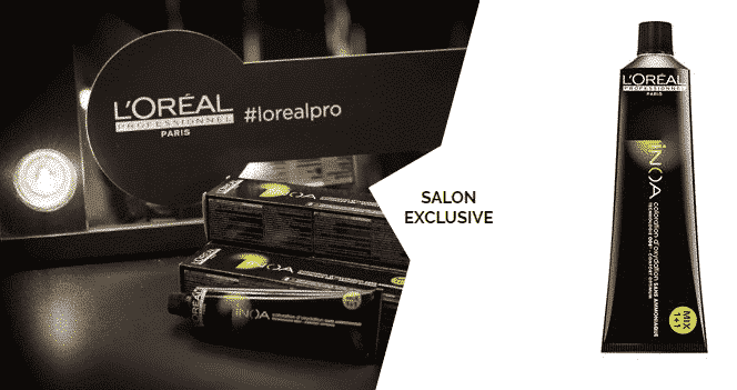 L'Oreal INOA Color Treatment is the best option