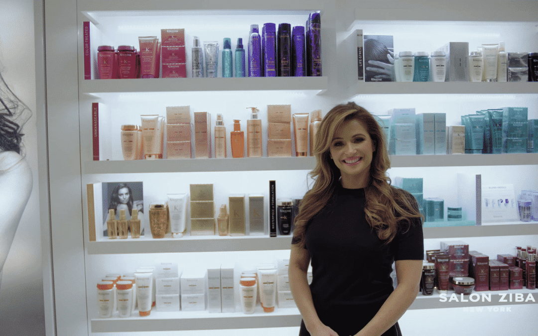 All about Kérastase products with brand ambassador Emily