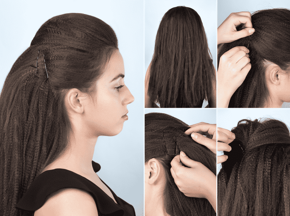 volume braided hair tutorial mosaic