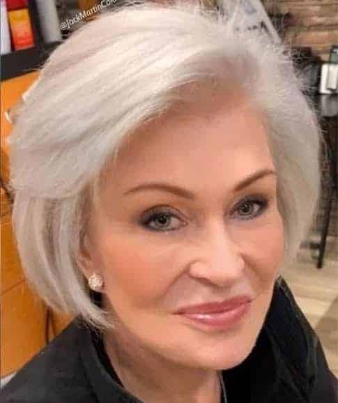 Sharon osbourne with grey hair