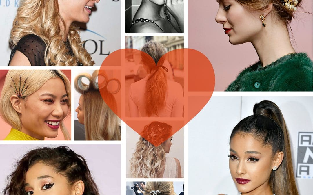 Valentines Day Hairstyles & Inspo