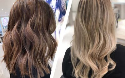 A Style Guide to Balayage & Highlights